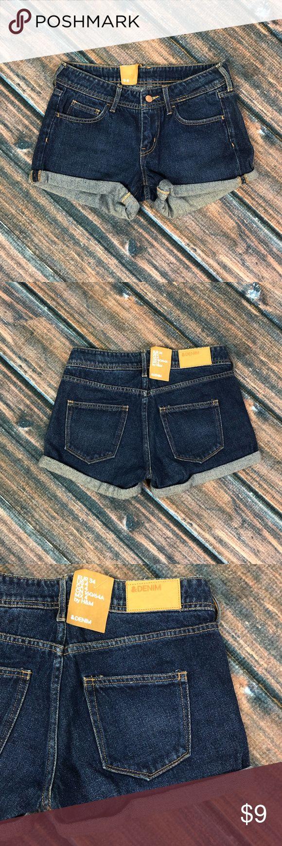 NWT H & M Shorts 🌟 Hervorragender Zustand 🌟 NWT H & M Shorts Dunkle Waschung …   – My Posh Picks