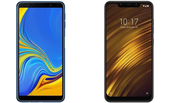 Samsung Galaxy A7 2018 Vs Xiaomi Pocophone F1 Subscribe Youtube Com More Techspacereview T Smartphone Beautiful Pictures Messages