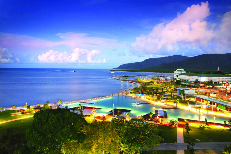 As the heart of the World Heritage-listed Great Barrier Reef and Wet Tropics rainforest, Cairns pulses with energy. More than 600 tours a day make the most of the year-round outdoor lifestyle while world-class sporting events and festivals embrace the cosmopolitan city's vibrant tropical culture.  #cairns