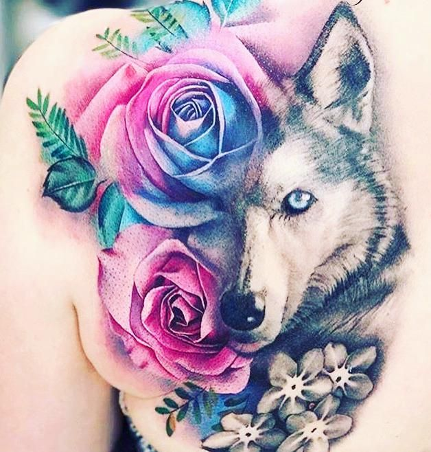 65 Gorgeous Watercolor Tattoo Ideas For Women