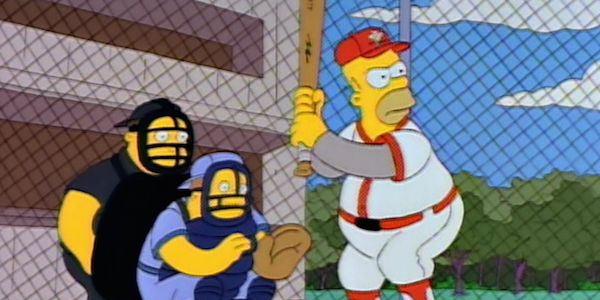 Watch Homer Simpson Getting Inducted Into The Baseball Hall Of Fame #FansnStars