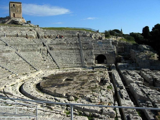 Siracusa, Sicily -- I've been here! the Greek theater