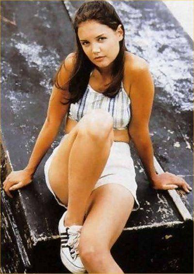Katie Holmes During her Dawson creek years