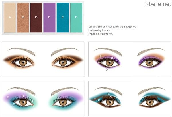 KIKO make up Milano Colour Party Palette Wet and Dry Eyeshadow palettes 6