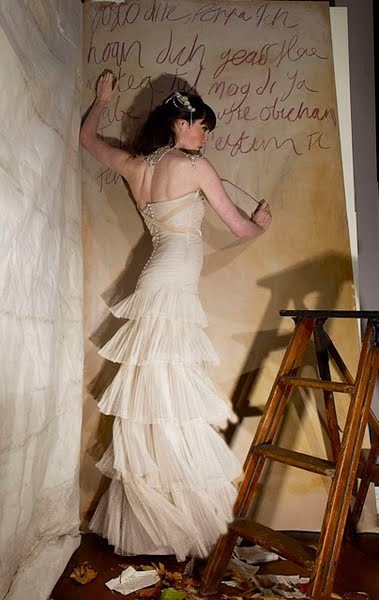 Gwendolynne gown via @Portobello Bride