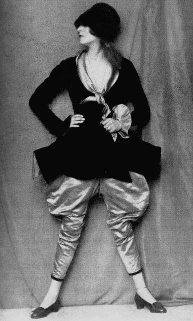 "German dancer, actress and writer Anita Berber as a Spanish dandy in ""Caprice Espagnol"", 1922 by Atelier D'Ora*"