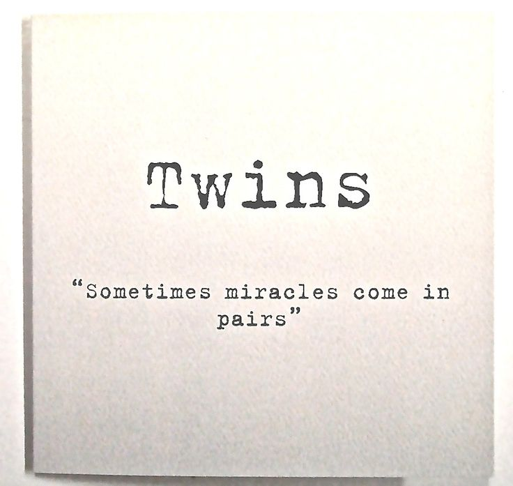 Twins Miracles come in Pairs Card click here to buy http://www.twinsgiftcompany.co.uk/twins-miracles-come-in-pairs-card-p-284.html