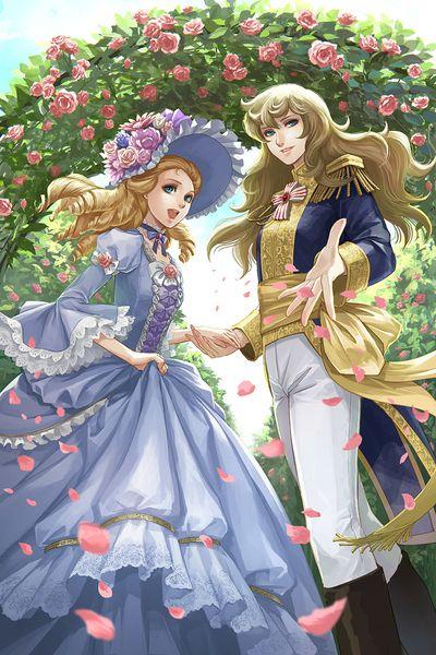 麗しきバラ園の華