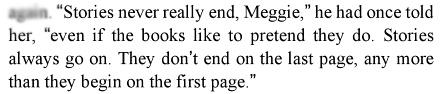 - Cornelia Funke, Inkspell