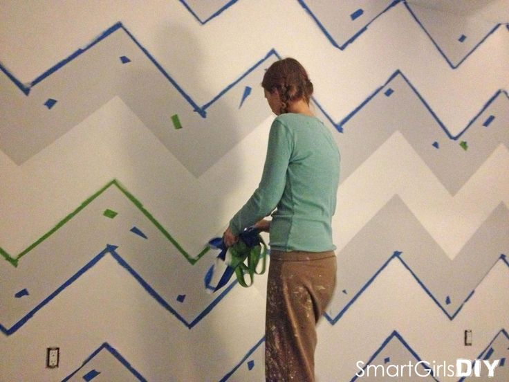 Best 25 Painting chevron walls ideas on Pinterest Chevron walls