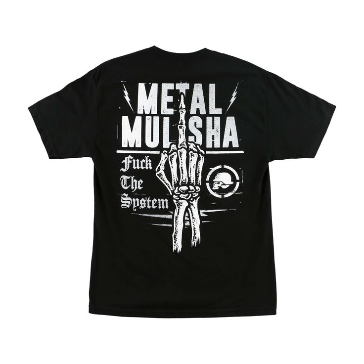 Metal Mulisha Men's System T-shirt