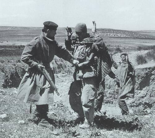 ratissage pendant la guerre d'algerie