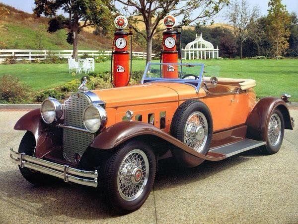 1931 8th Series Packard Boattail Speedster