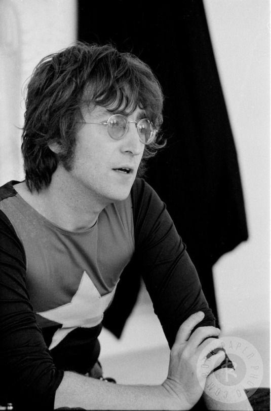 John Lennon, July 1971, by Michael Putland.