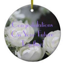 Congratulations On Marriage Ornament