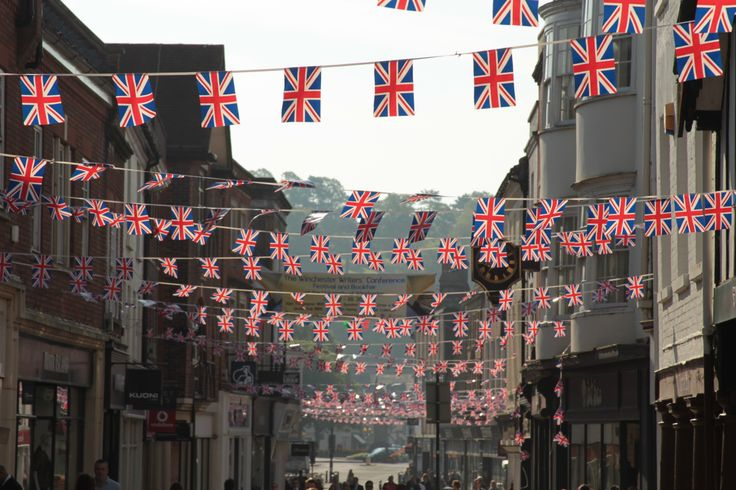 A photo from the summer of 2012, when Winchester celebrated her Majesty's Diamond Jubilee.