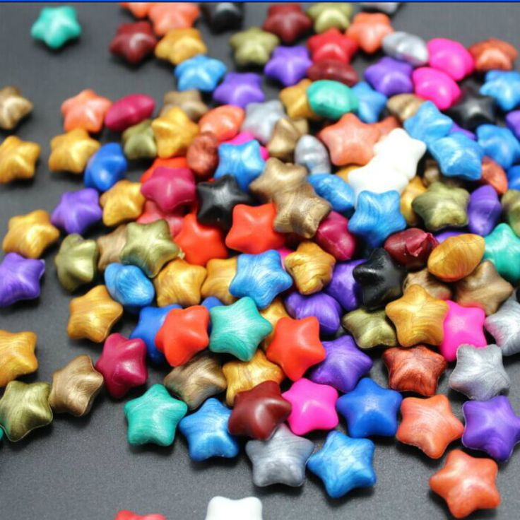100PCS Lucky Star Wax paint wax particles enamel seal Envelope Envelope wax candy colored candles #Affiliate