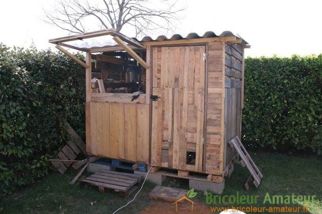 Ana White | Build a Garden Shed made with pallets | Free and Easy DIY Project and Furniture Plans
