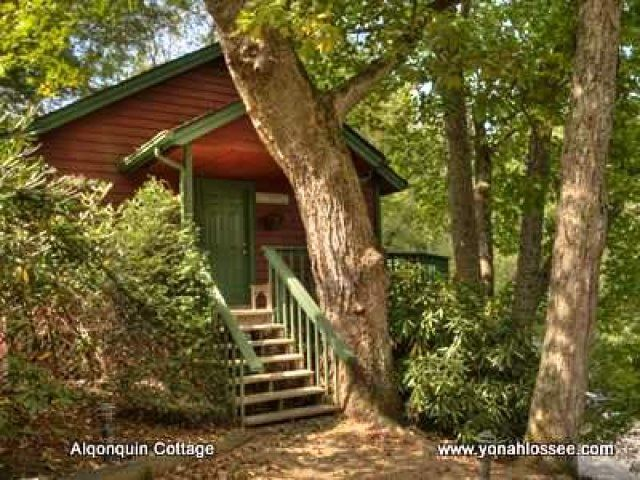Best 16 algonquin cottage at yonahlossee resort images on for Cabin rentals near blowing rock nc