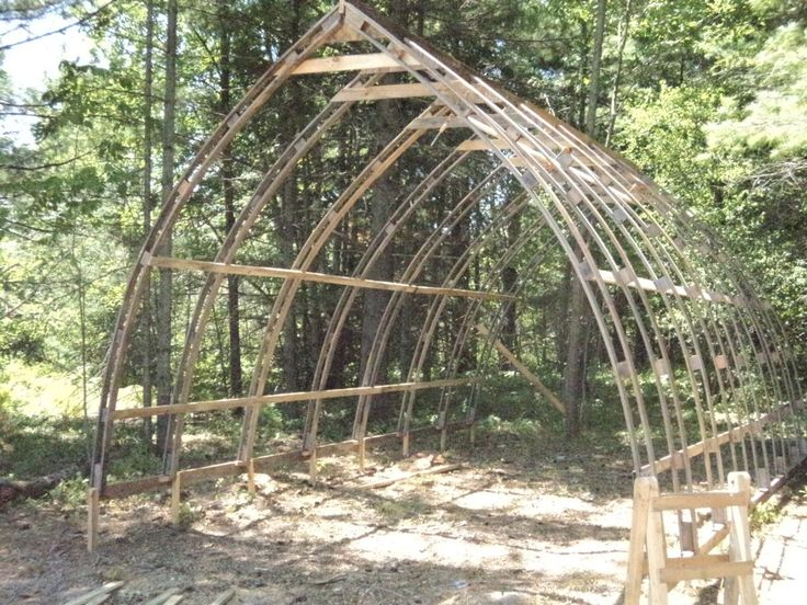 126 best alternative building ideas images on pinterest for Bow roof shed