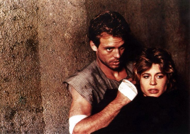 Michael Biehn & Linda Hamilton as Kyle Reese & Sarah Connor in The #Terminator (1984)