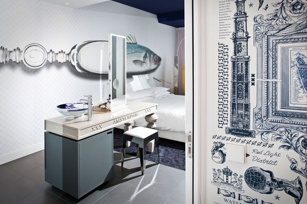 Бутик-отель Andaz Amsterdam