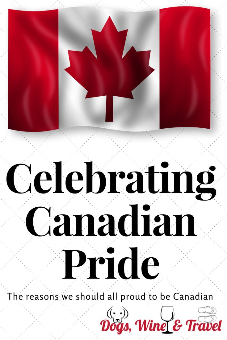 I always feel excited for our Canadian athletes. I find myself cheering during sports that I don't even understand, just because a red and white uniform is in the fold. Where does this come from? It comes from love of country, and pride in what we stand for.