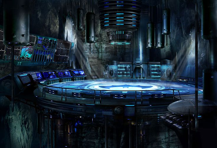 Batcave for Mortal Kombat vs DC Universe Game