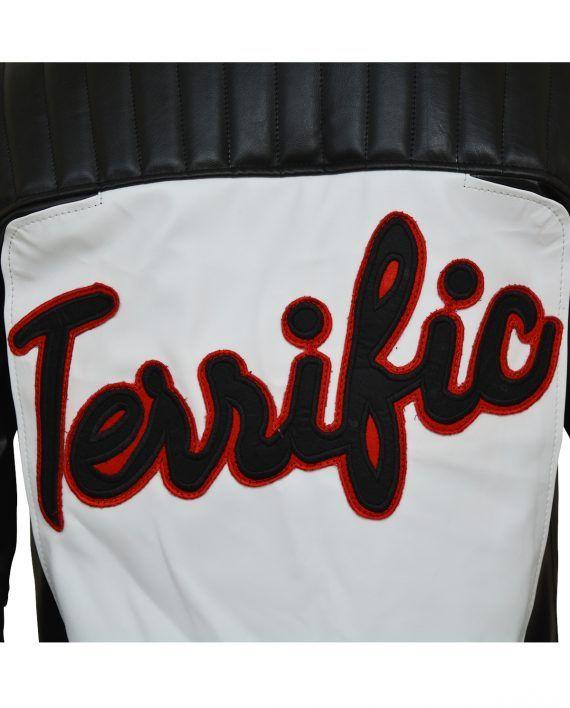 Mister Terrific Fair Play Motorcycle Leather Jacket