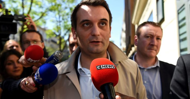 Florian Philippot quits France's National Front