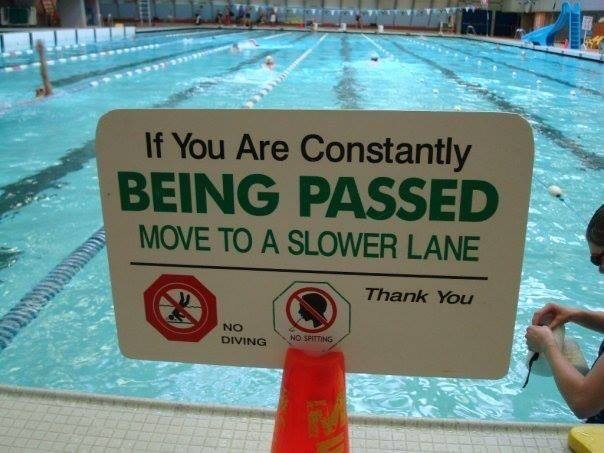 Every lap swimmers dream sign!