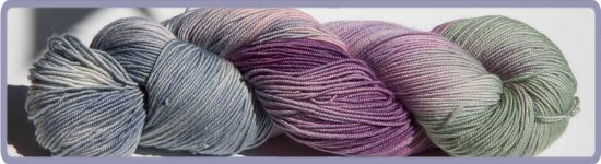 Lavender Fields in the Mist : Blue Moon Fiber Arts®, Inc., Custom yarns, patterns, kits, and more