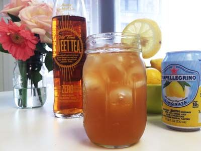 Skinny Arnold Palmer with Miami Cocktail Sweet Tea