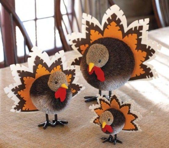 Lovely Turkey Decorations. Turkey DecorationsThanksgiving ...