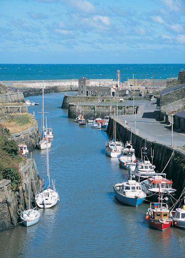 Amlwch Harbour, Anglesey, North Wales