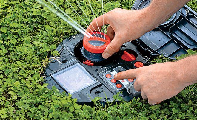 Rasenbewasserung Selbst De Bewasserung Garten Bewasserung Bewasserungssystem