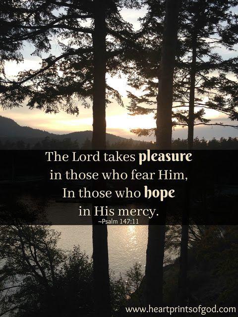 Heartprints of God: When God Takes Pleasure~