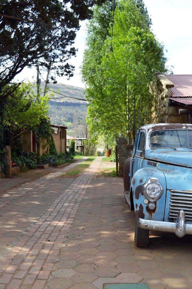 Vintage Car | Clarens