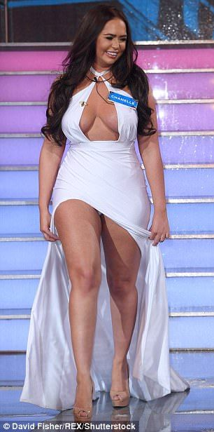 ACKCITY NEWS: WTF! Chanelle McCleary Suffers Wardrobe Malfunction Into Big Brother (Pictures)
