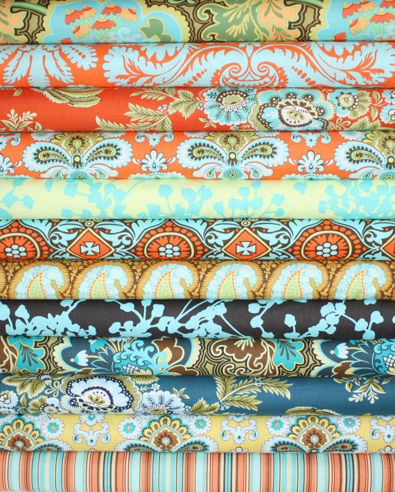 Amy Butler Belle Fabric bundle by Amy Butler Stash by fabricshoppe, $60.00