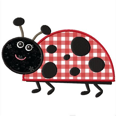 8 Best Katica Images On Pinterest Ladybugs Applique Ideas And