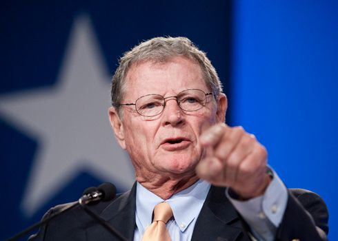 Climate Denier Jim Inhofe Says He Could Lead Senate's Top Environment Committee Next Year (noooooo!  We cannot let that happen.)