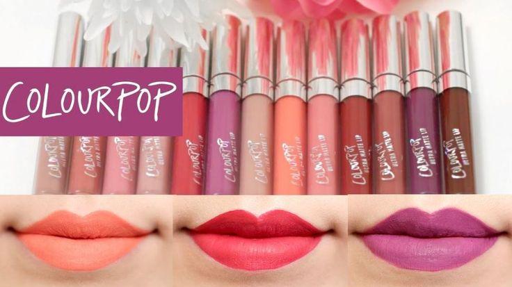 New ColourPop Ultra Matte Lip Liquid Lipstick Pick Your Color 20 Shade Gloss Nib #ColourPop