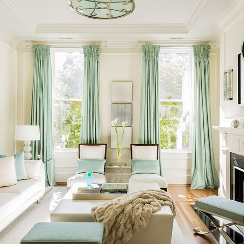 Brownstone makeover transitional living room boston for Brownstone living room decorating ideas