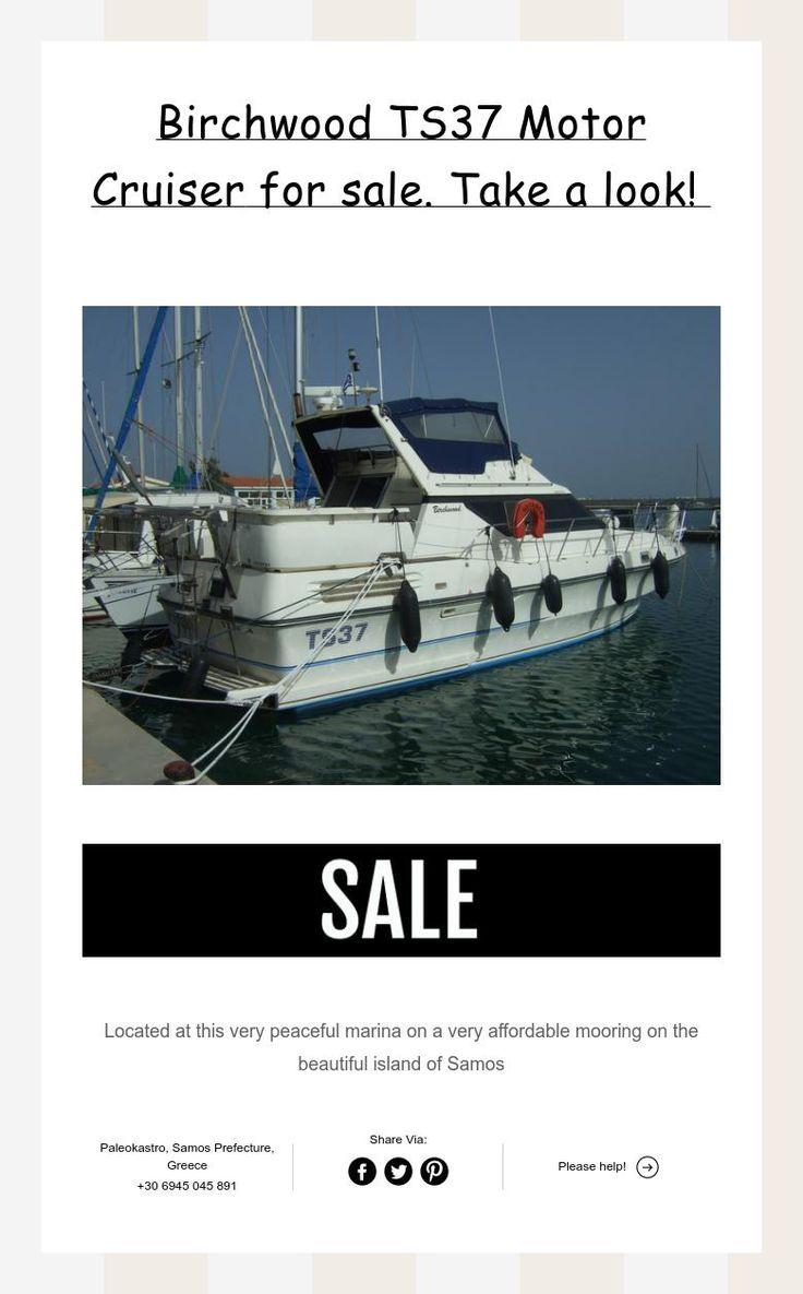 Birchwood TS37 Motor Cruiserfor sale. Take a look!