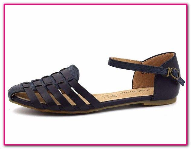 Riemchen Sandalen Vorne Geschlossen | Schuhe damen, Sandalen pQah8