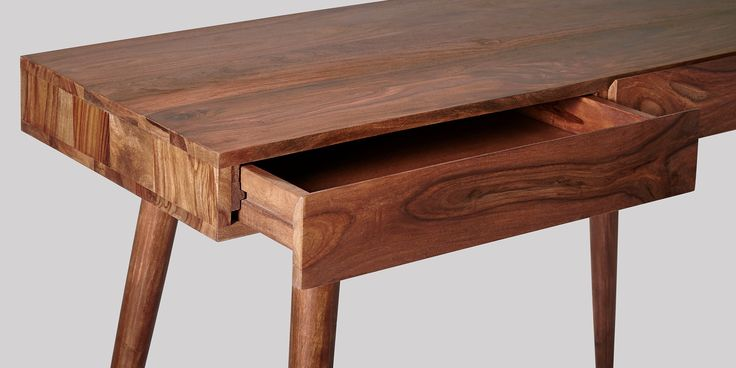 Swoon Editions Desk, contemporary style in rosewood - £269