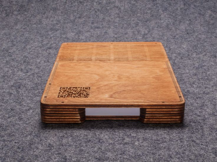 Notebook in wooden case by DRVSK Goods