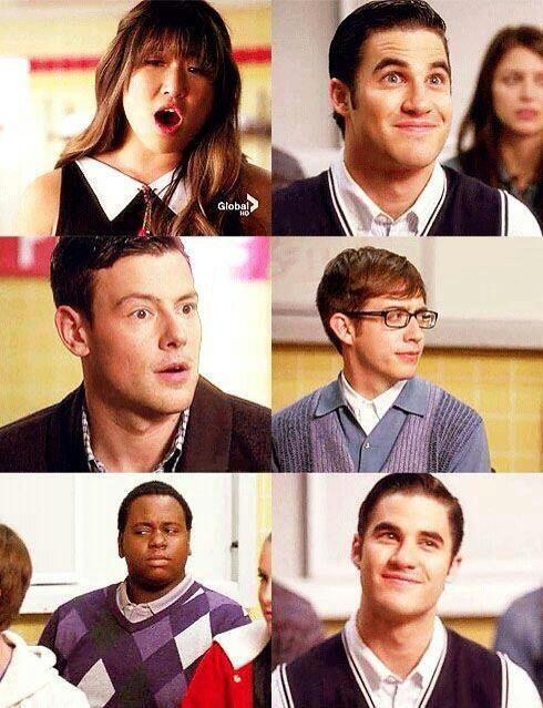 xD El enamoramiento de Tina por Blaine