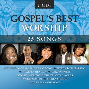 Continuing in the highly successful series of Gospel's Best: Men, Women, Choirs and Gospel's Best: Live EMI Gospel releases the next installment, Gospel's Best Worship. Comprised of today's most popular worship songs in churches plus worship songs from the Gospel community sung by artists such as CeCe Winans, Smokie Norful, Mighty Clouds Of Joy, and Kierra Sheard, this collection is sure to be a hit with fans not only of Gospel music but of worship music as well. - $8.99